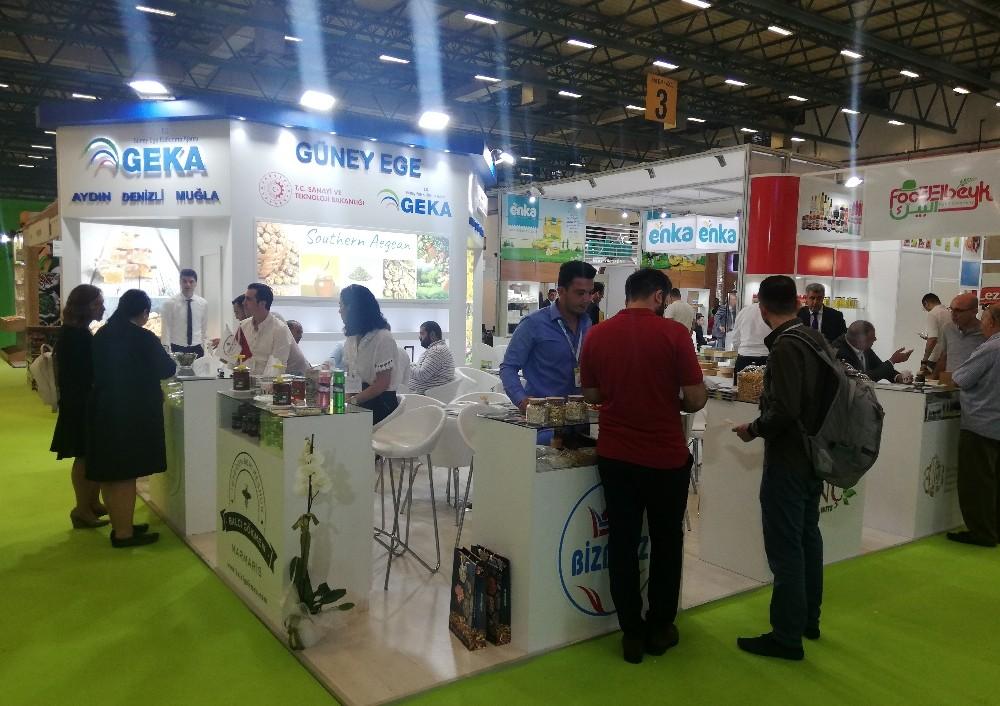 Güney Egeli firmalar Worldfood İstanbul Fuarı'nda