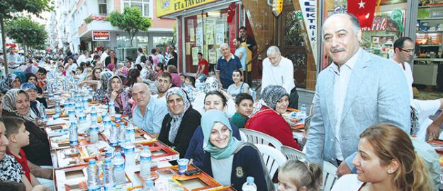 Güngören'de Ramazan yaşandı