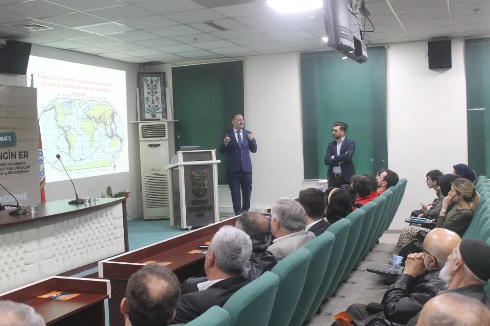 Gürsululara deprem konferansı