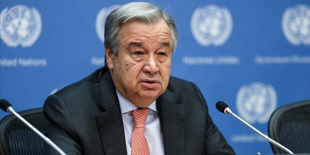 Guterres uyardı: Dünya uçurumun kenarında