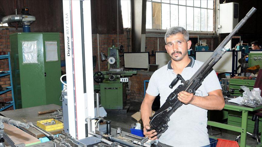 Güvenlik güçlerine yerli yeni milli silah