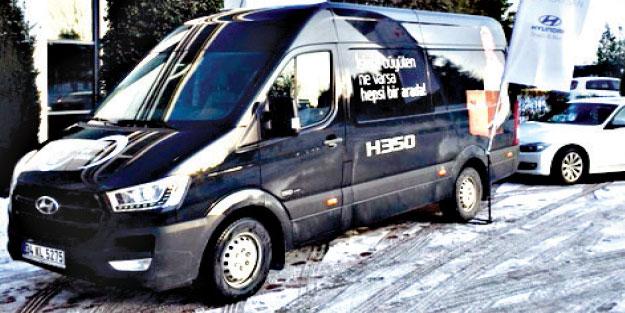 H350'ler personel ve yük taşımada ideal görülüyor