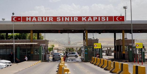 Habur Sınır Kapısı'nda Irak ile