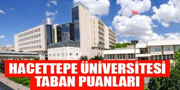 Hacettepe Üniversitesi taban puanları başarı sıralaması yüzdelik dilimleri 2019