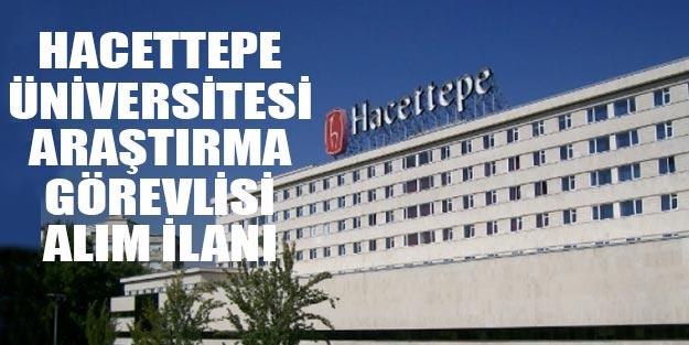 Hacettepe Üniversitesi öğretim ve araştırma görevlisi alımı 2019
