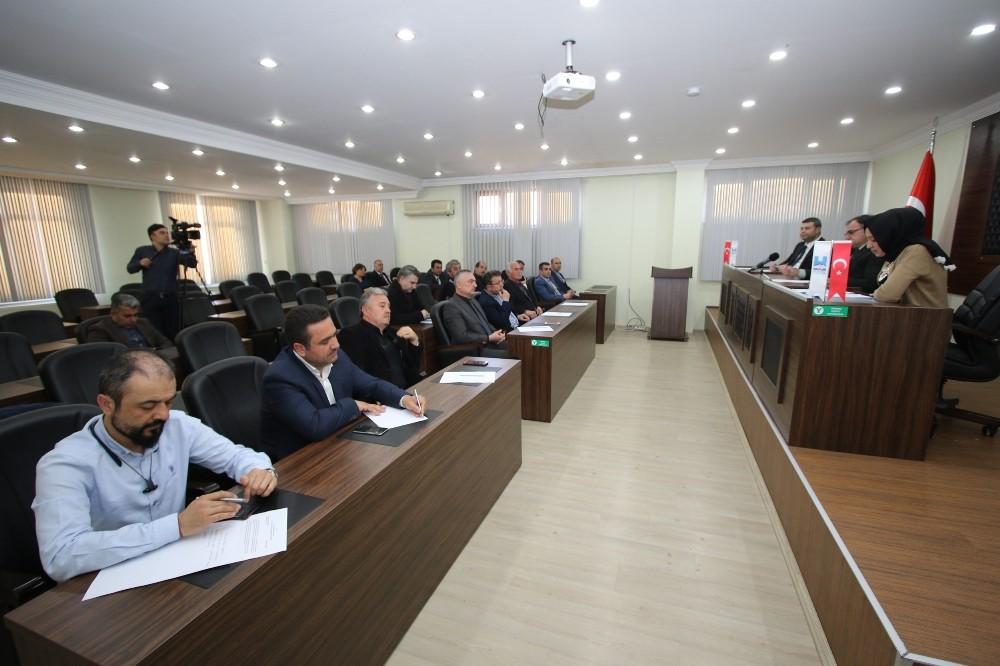 Hacılar Belediye Meclisi Mart Ayı Toplantısını Gerçekleştirdi