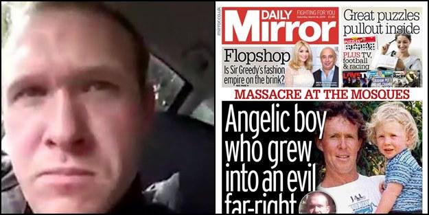 Haçlı basınından Hristiyan terörüne destek gibi manşet: Melek çocuk