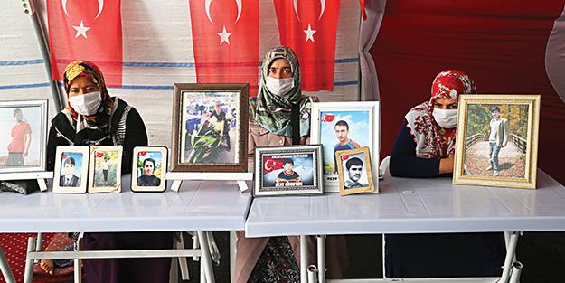 Hafız oğlumu PKK'dan almadan buradan kesinlikle gitmeyeceğim