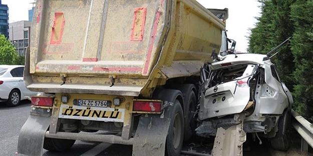 Hafriyat kamyonu dehşet saçtı! Yaralılar
