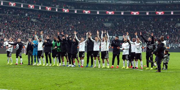 Haftanın kazananı Beşiktaş oldu!