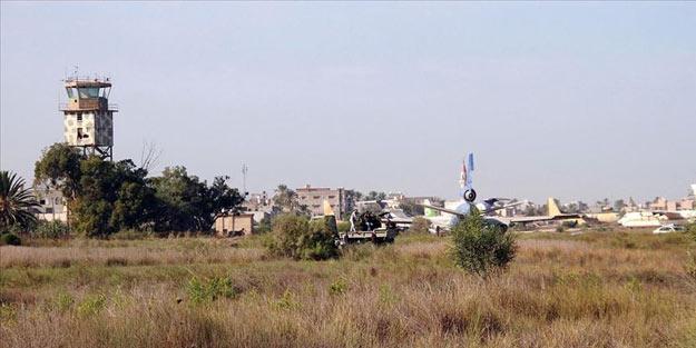 Hafter milisleri rahat durmuyor! Havalimanı'na roketli saldırı