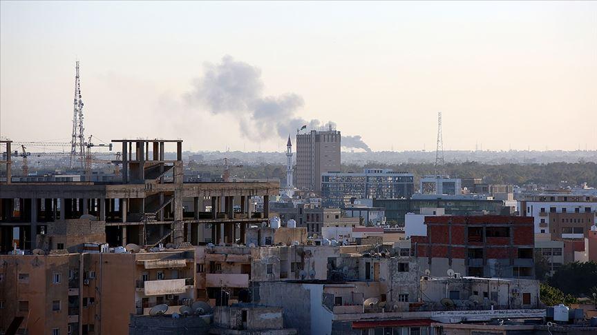 Hafter'den Trablus'ta sivillere saldırı: 3'ü çocuk 5 yaralı