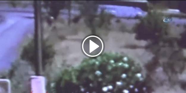 Hain asker kadın kılığında kameralara takıldı