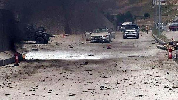 Hain saldırıda kullanılan aracın şoförü bu halde bulundu