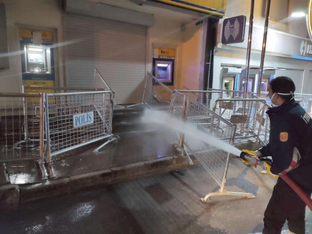 Hakkari'de dezenfekte seferberliği