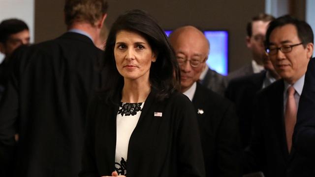 Haley: İran'ı Suriye'den çıkarmalıyız