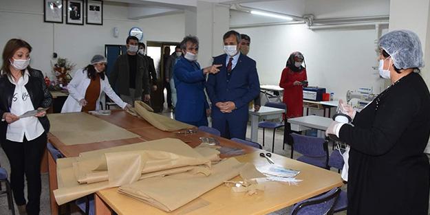 Halk Eğitim merkezlerinde üretilecek maske sayısı belli oldu