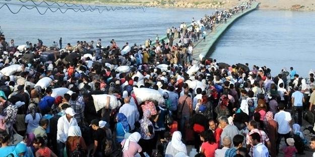 Kürt halkı PYD zulmünden kaçıyor!