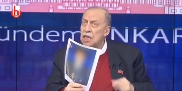 Halk TV'de büyük rezalet! Fotoğraflarını gösterip ifşa etti