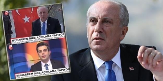 Halk TV'den Muharrem İnce'ye sansür!