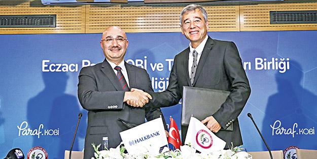 Halkbank'tan eczacılar için 500 bin liralık destek paketi