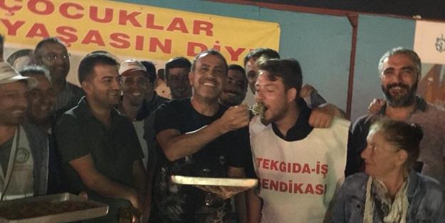 Haluk Levent'ten işçilere sürpriz! Hükümete ve muhalefete seslendi
