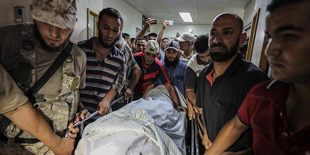 Hamas mevzilerine saldırı!