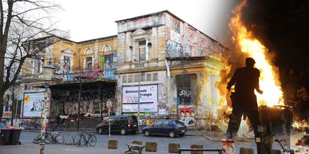 Hamburg yanıyor; Merkel ve Batı basını sus pus!