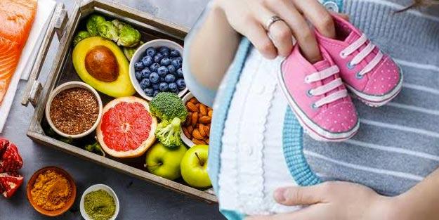 Hamileyken neler yenmeli neler yenmemeli? Hamilelikte nasıl beslenmeli