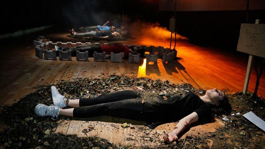 'HAMR' oyunu Altındağ'da sahne aldı!