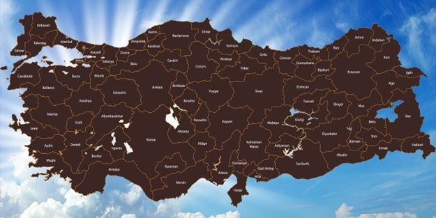 Hangi ilimizde hangi Allah dostu var? İşte evliyalar haritası..