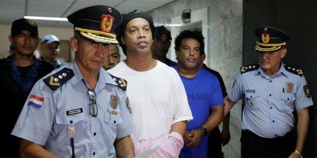 Hapisteki Ronaldinho ilk kez konuştu