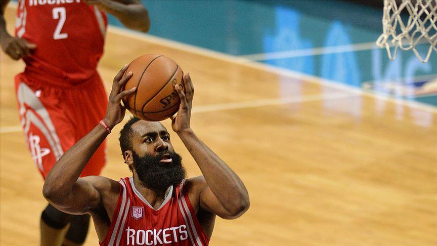 Harden 49 sayı attı Rockets üst üste 7. galibiyetini kazandı