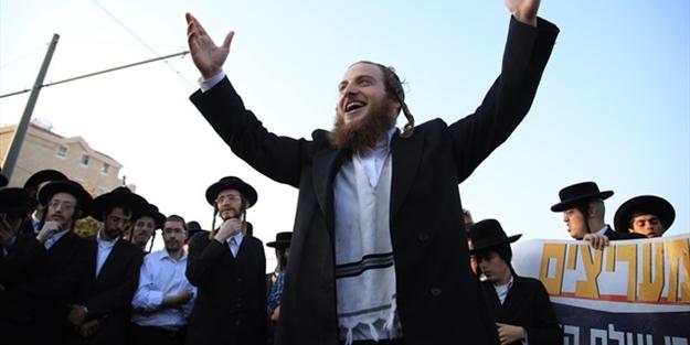 Haredi Yahudileri İsrail'e başkaldırdı: Türkiye buraya da gelsin!