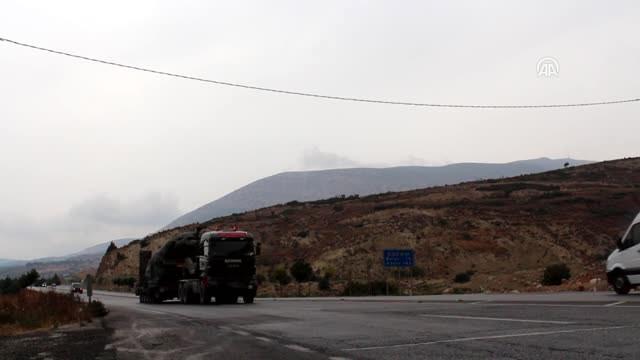 Hareketli anlar! Tanklar Suriye sınırına ulaştı