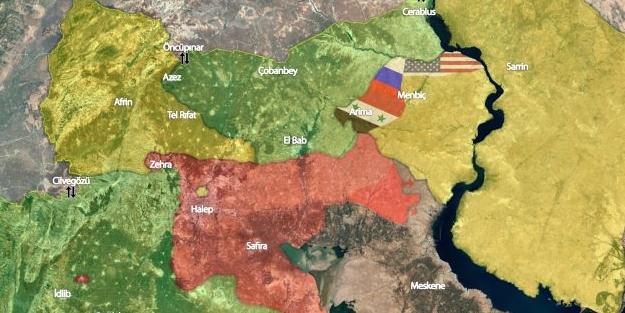 Haritalar yine değişti... bölgede son durum