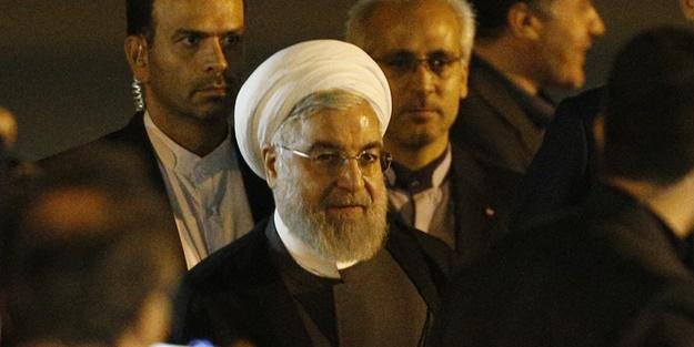 Hasan Ruhani Ankara'ya geldi
