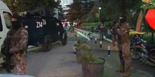 Hastane önünde silahlı çatışma