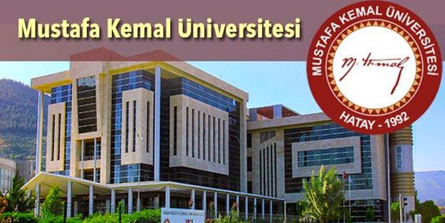 Hatay Mustafa Kemal Üniversitesi kamu personeli alımı 10 öğretim üyesi ve araştırma görevlisi alımı başvuru şartları