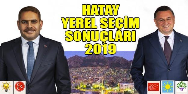Hatay seçim sonuçları 2019 Cumhur İttifakı Milet ittifakı oy oranları Seçim 2019 Hatay ilçe sonuçları