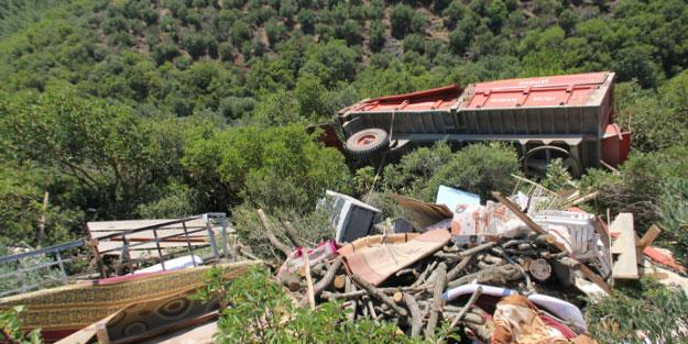 Hatay'da feci kaza: 1 ölü, 1 yaralı