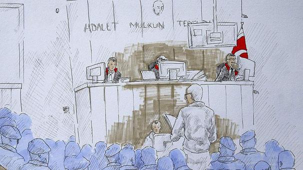 Hatay'daki FETÖ davasında 55 eski polise hapis cezası verildi