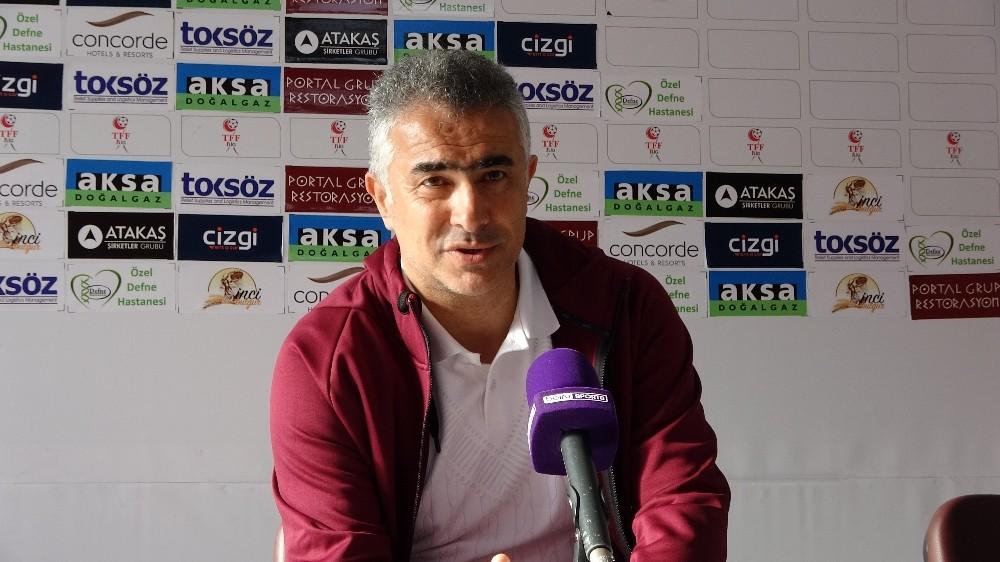 Hatayspor - BB Erzurumspor maçının ardından