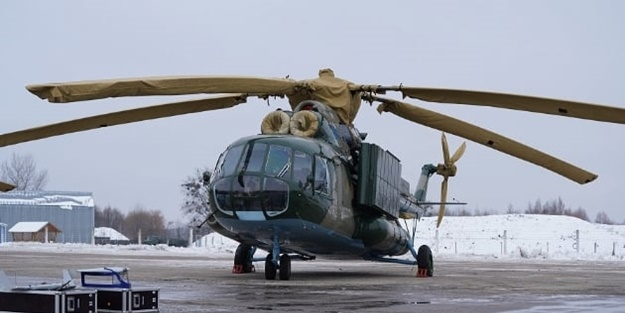 Hava kuvvetlerine teslim edildi! Özgün saldırı ve elektronik harp helikopteri