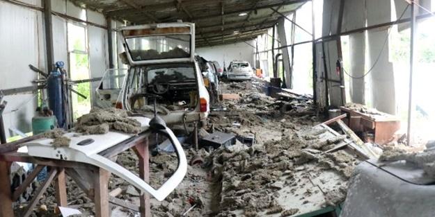 Havai fişek fabrikasındaki patlamada bir bardak su hayatlarını kurtardı