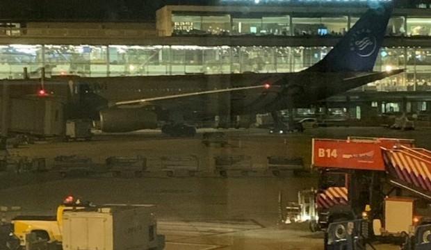 Havalimanında büyük panik! 'Uçak kaçırma girişimi'