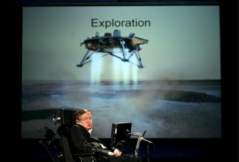 Hawking'in evdeki solunum cihazı hastaneye bağışlandı