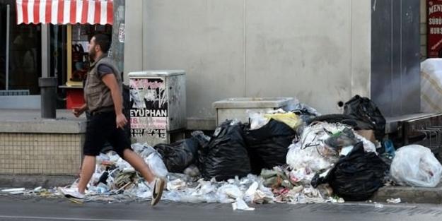 Hayatı durdurdular, şehir çöplüğe döndü!