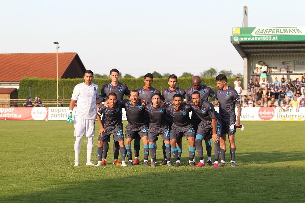 Hazırlık maçı: Trabzonspor: 3 - TSG Hoffenheim: 3