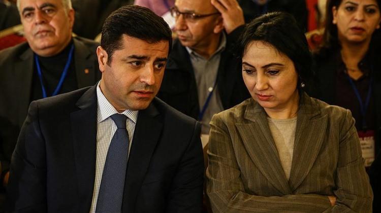HDP Demirtaş ve Yüksekdağ için AİHM'ye başvurdu